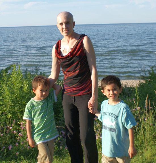 cancerinmythirties.wordpress.com breast cancer thirties 30s 30's beach kids forward young